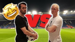 FOOTBALL TENNIS CHALLENGE WITH CHRISTIAN FUCHS