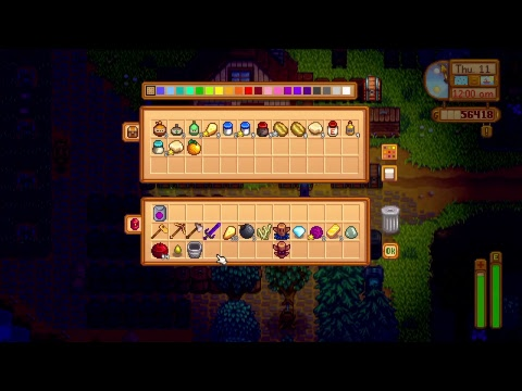Stardew valley : live game-play greenhouse and truffle time