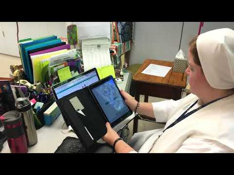 Preparing New Students to Use iPads - MDM on the Road & Mary Help of Christians Academy