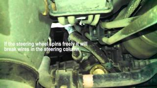 Power steering rack replacement 2006 Toyota Sienna Install Remove Replace