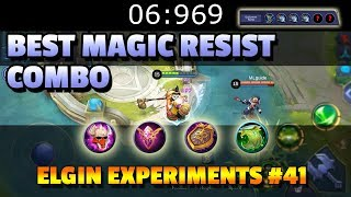 WHAT IS THE BEST MAGIC RESISTANCE COMBINATION? 🎩 - ELGIN EXPERIMENTS #41 - COUNTER MAGIC USERS