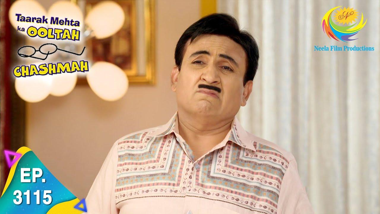 Download Taarak Mehta Ka Ooltah Chashmah - Ep 3115 - Full Episode - 4th March, 2021