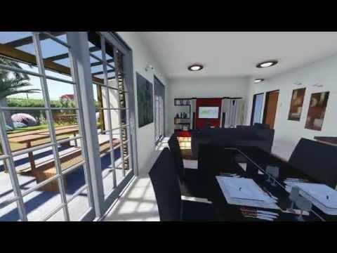 Casa tincho sauco 3 youtube for Modelo casa clasica 2 dormitorios procrear