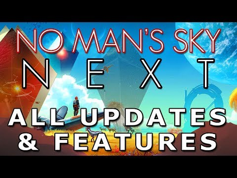 No Man's Sky 2018   NEXT Update   Multiplayer   Co-Op   Ships   Trading   Features   Details