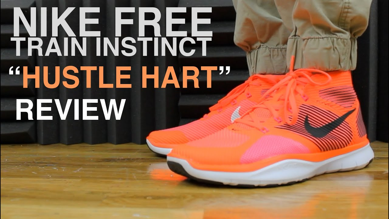 bf35048036b7 HUSTLE HART NIKE FREE TRAIN INSTINCT REVIEW KEVIN HART SIGNATURE ...