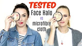 Face Halo Vs Microfibre Cloth. Are they the same? | BEAUTY NEWS REVIEWS