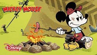 Acampando   Mickey Mouse