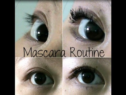 Mascara Routine for My Short, Straight Lashes! + How I Keep Them ...