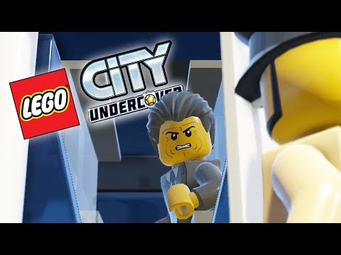 Lego City Undercover Game | ROBBING A BANK! | Lego City Undercover HD Gameplay - Chapter 6