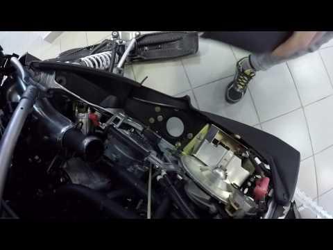 Instal exhaust Polaris Pro ride установка глушителя Polaris