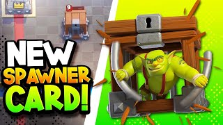 New SPAWNER Card! GOBLIN CAGE vs PRO! Gameplay & Goblin Brawler In Action!