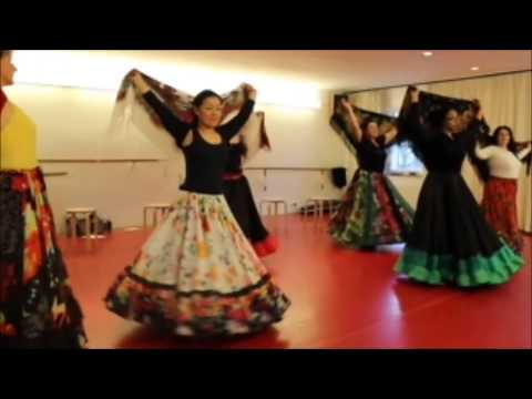 Gypsy Dance. Dance Winter School! Workshop, Sing and Creating Spectacle! Berlin 2015