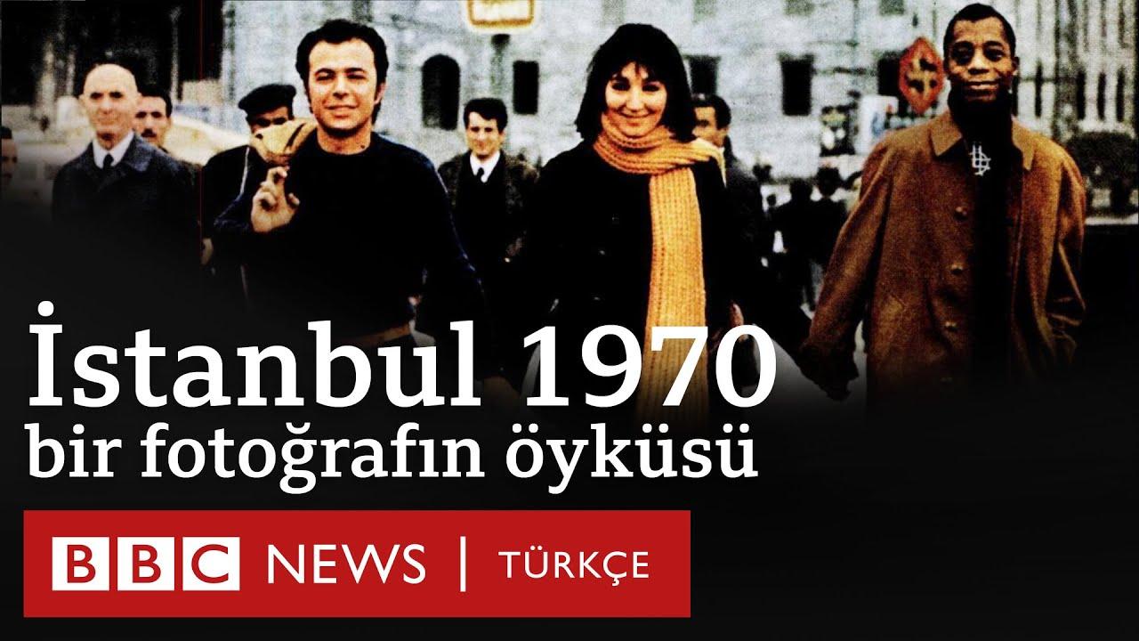 """1970'de Galata Köprüsü'nde çekilen fotoğrafın hikayesi: Gülriz Sururi, Engin Cezzar ve """"Jimmy"""""""