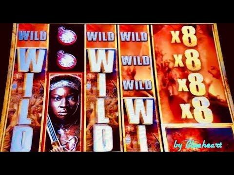 ★ SAVE THE DAY with HUGE WIN! ★ Buffalo Gold Slot bonus and The Walking Dead slot machine MEGA WIN!