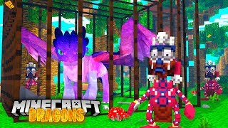 WE FOUND OUR GALAXY DRAGON EKON! - Minecraft Dragons