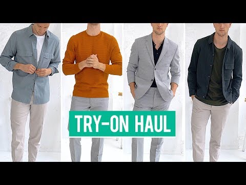 COS Try-On Haul   Men's Fashion   Outfit Inspiration