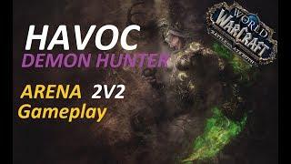 Demon Hunter BFA / Full Arena Video #Demonhunter