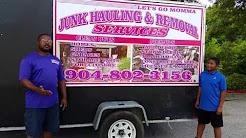 Lets go momma trash hauling  jacksonville fl