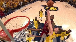 LeBron James Dunks on Pacers | Cavaliers vs Pacers - Game 6 | April 27, 2018 | 2018 NBA Playoffs