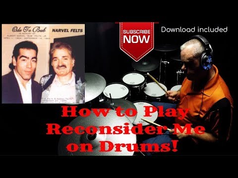 How to play Narvel Felts - Reconsider Me (Drums Only) - by Joey McNew TD30KV (4K) trx