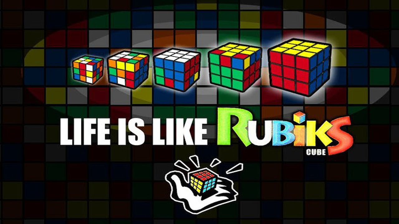 life is like a rubik 39 s cube youtube. Black Bedroom Furniture Sets. Home Design Ideas