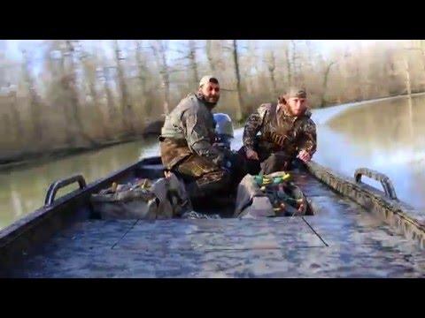 Edge Duck Boats - Arkansas Duck Season 2016