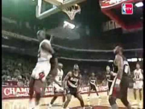 Michael Jordan - 6 MISSED FREE THROW PUTBACK DUNKS (Compilation)