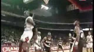 michael jordan 6 missed free throw putback dunks compilation