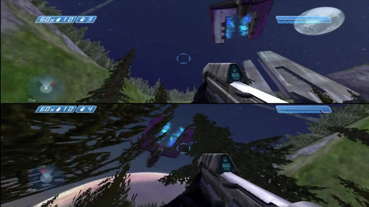 how to play halo ce co op
