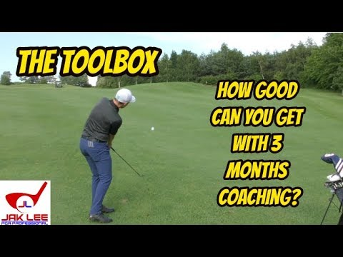 HOW MUCH BETTER CAN YOU GET AT GOLF WITH 3 MONTHS COACHING? #TheToolbox