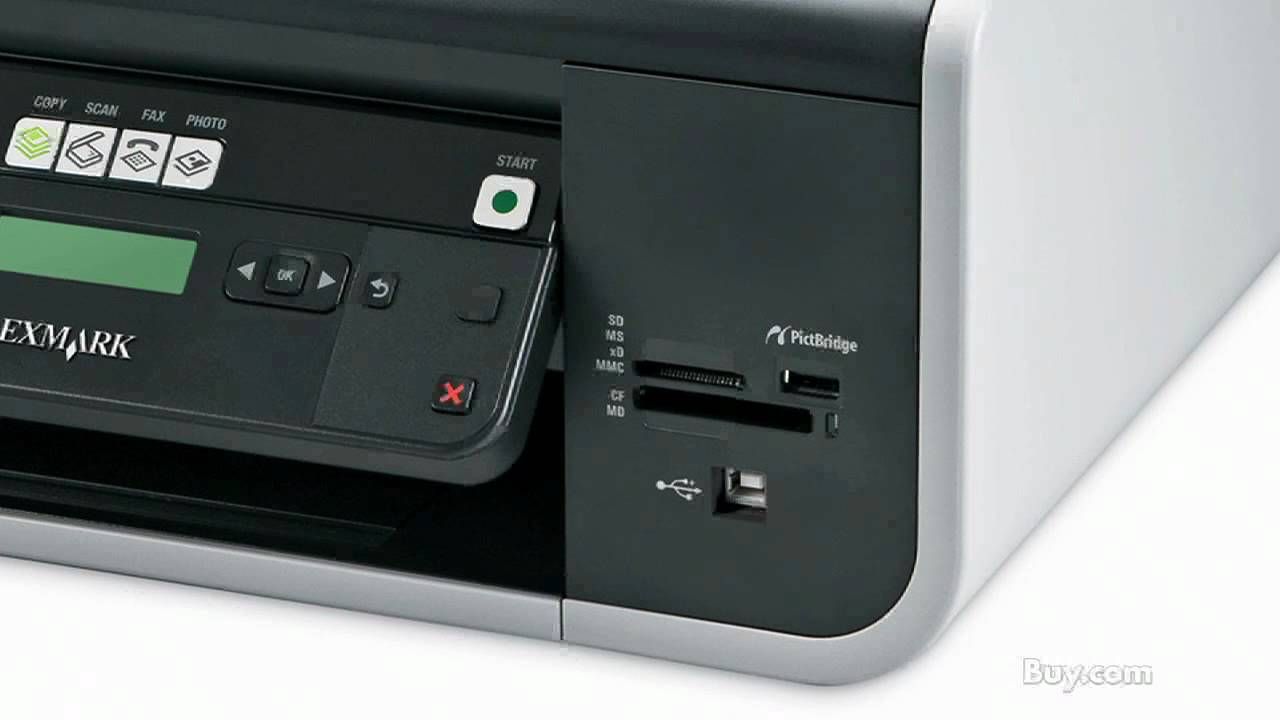 Lexmark X5650 Color All In One Inkjet Printer Youtube