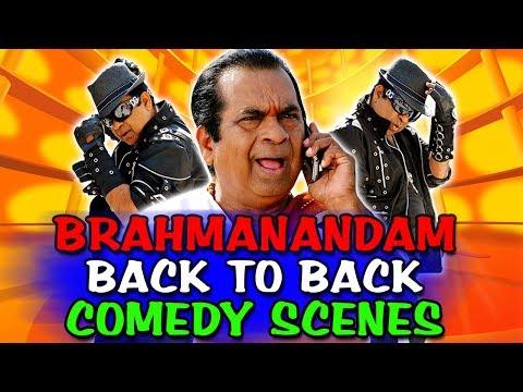 Dangerous Khiladi 2 (Brahmanandam) Back To Back Comedy | South Indian Hindi Dubbed Best Comedy