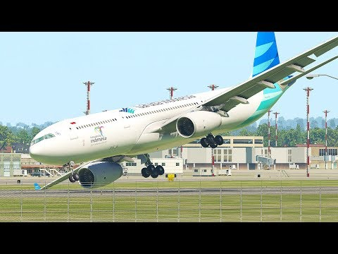 Worst Nose Dive Emergency Landing | X-Plane 11
