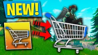 *NEW* SHOPPING CART UPDATE + SKIN REFUND SYSTEM! | SOLO + TIPS & TRICKS FORTNITE BATTLE ROYALE!