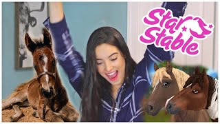 Creating A Video Game Character For My New Foal! | STAR STABLE