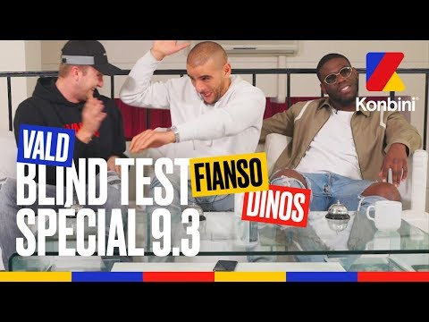 Fianso x Vald x Dinos  Blind Test Spécial 9.3
