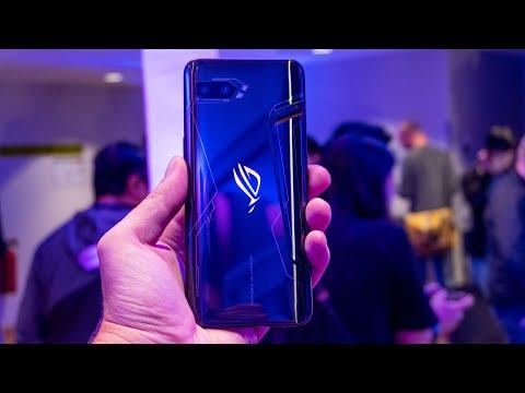 Мечта геймера! Все о новом Asus ROG Phone II на IFA 2019 из первых рук!