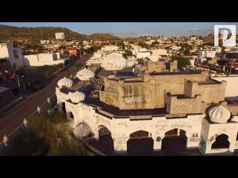 """""""Las mil y una noches"""", mansión en Hermosillo que nunca tuvo habitantes, hoy está en ruinas (4/6)"""