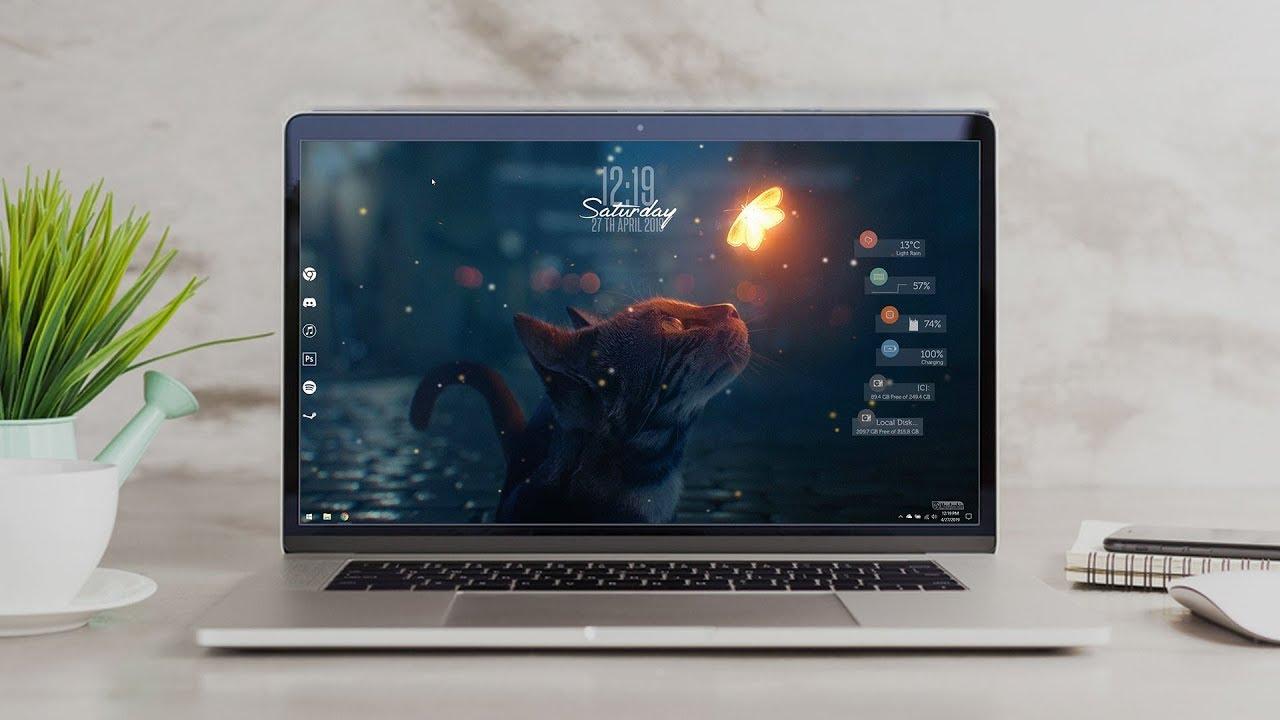 Blurry Desktop Make Windows Look Better Youtube