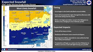 WINTER STORM WARNING: Heavy Snow Moving Into Our Region