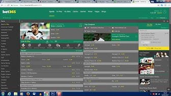 Screen capture showing Betting accounts limited by Bet365 and Paddy Power