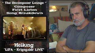 Old Composer REACTS to Heilung | LIFA - Krigsgaldr LIVE //  The Decomposer Lounge