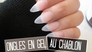 TUTO Ongles en gel extension au chablon   Melissa Easy Nails
