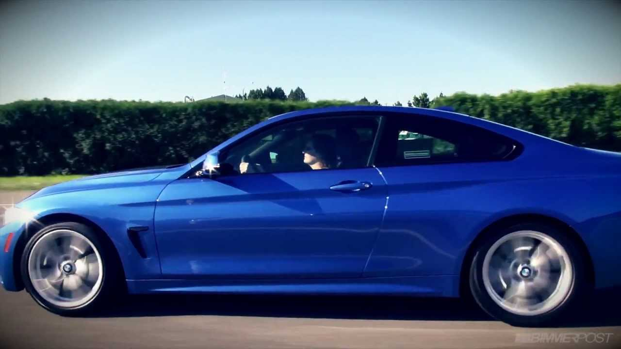 bmw 4 series coupe f32 in action youtube. Black Bedroom Furniture Sets. Home Design Ideas