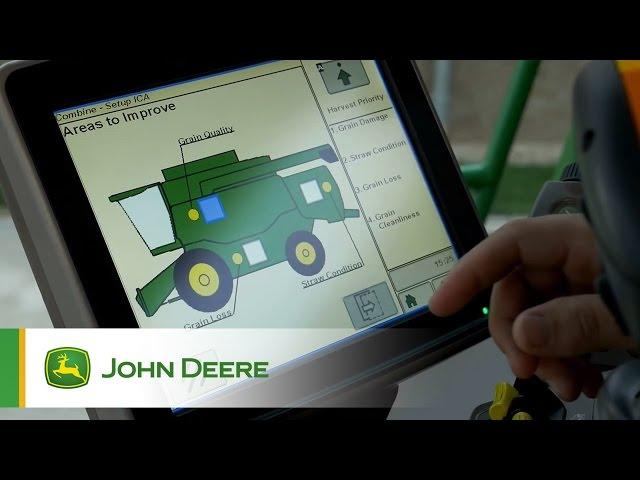 John Deere - Mietitrebbie Serie T - Connected Combine