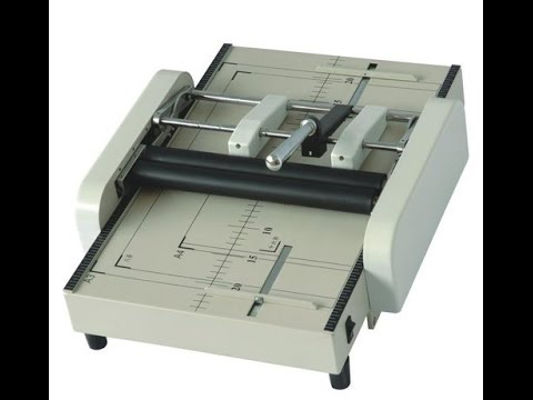 How to Do Catalog n Stapler Binding Using AutoMatic Machine AKA Manual Two Pin Stapler