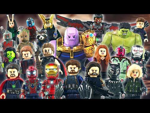AVENGERS INFINITY WAR - LEGO MINIFIGURES SHOWCASE