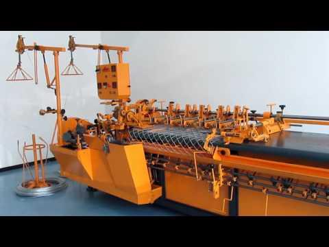 Станок для производства сетки рабица Турция