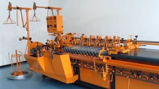 Станок для производства сетки рабица Турция(, 2016-09-06T18:39:34.000Z)