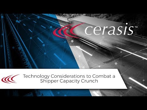 Talking Freight (36) - Technology Considerations to Combat a Shipper Capacity Crunch